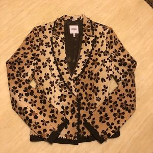 New MOSCHINO Animal/Floral Printed Blazer Size 8